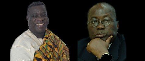 Les 2 finalistes de la présidentielle ghanéenne