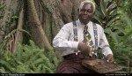 Sabala détente avec Antoine Moundanda dans